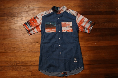 NEW AGE BUTTON UP, $70